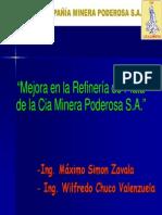 Refineria de Plata Minera Poderosa
