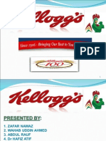 Kelloggs Case Study Management