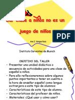 Enseñar Español Ninos