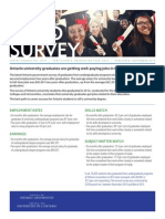 Council of Ontario Universities grad survey