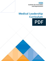 Medical Leadership Curriculum