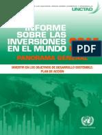 Estudio de inversiones en el mundo 2014