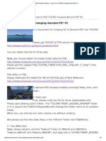 Flight Simulator Maniacs - How to FSX TDS787 Merging Aerosim787 VC