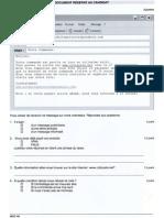 Exemples de Mails Formels Et Informels