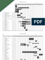 Cronograma General de Obra Modelo