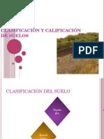 Clasificación y Calificación de Suelos