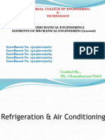 Air Conditioning Ppt of EME