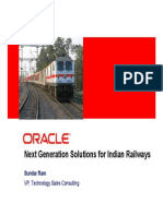 Next Generation Technology for Railways-OrACLE