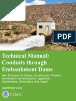 Fema484 Conduit Through e Dam