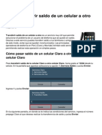 Transferir Saldo de Un Celular a Otro en Peru 21707 Nnjwa3