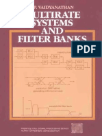 P.P.vaidyanathan - Multirate Systems and Filter Banks (Pren