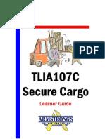 TLIA107C - Secure Cargo - Learner Guide