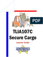 TLIA107C - Secure Cargo - Learner Guide