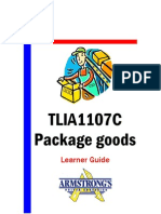 TLIA1107C - Package Goods - Learner Guide