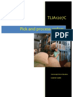 TLIA1207C - Pick and Process Orders - Learner Guide