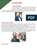 Heroes Peruanos