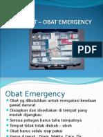 Obat obat Emergensi