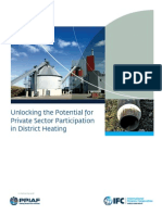 Unlocking the Potential for Private Sector Participation in District Heating