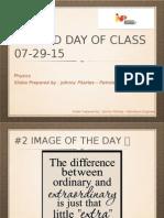 Class # 7 Physics