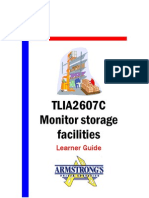 TLIA2607C - Monitor Storage Faciliates - Learner Guide