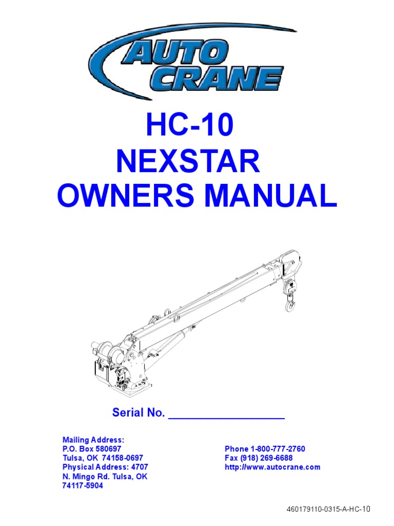 Auto Crane 040529000 Electrocution Hazard Decal