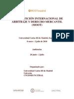 II CompeticiÓn Internacional de Arbitraje y Derecho
