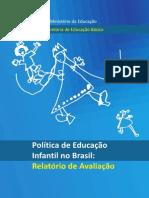 Politica Educacao Infantil Relatorio Avaliacao 260411