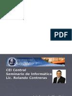 PRESENTACION SEMINARIO DE INFORMATICA LUISFERNANDO OLIVA IDE0510798