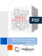 PEMBI Modelo de Madurez para BI (Business Intelligence)
