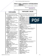 Finances, Accounting & Legal English-Portuguese Glossary