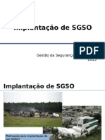 Exemplo SGSO Implantado Provedor Servicos