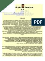 Revista Tradición Perenne 88