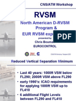 RVSM (US and Europe)