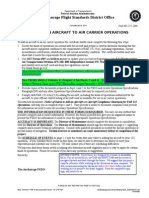 Aircraft Conformity Worksheet