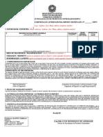 CII Certificado Internacional de Importacao