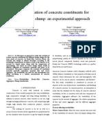 Paper on Slump Variation