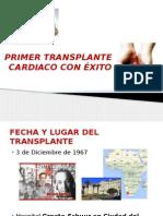 PRIMER TRANSPLANTE CARDIACO CON ÉXITO.pptx