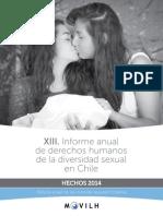 XIII Informe de DDHH 2014-Web