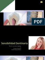 Sensibilidad Dent in Aria Dr. Arguello2009