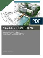 Analisis y Diseño Urbano San Felipe Guanajuato
