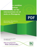 XO Investigación Paraguay DT 9 La XO y Los Cambios en Las Prácticas Docentes FINAL