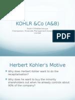 KOHLR &Co (A)