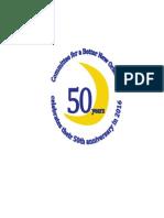 CBNO 50th Anniversary Graphic