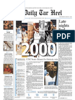 The Daily Tar Heel for March 3, 2010