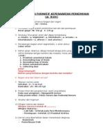 Kisi-kisi Ujian Formatif-kep. Perkemihan