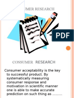 Consumer Research.ppt Sachin