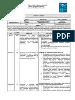 VET301 Diagnstico Por Imagem 2014.1 - Plano de Ensino