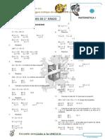 Ficha de Ejercicios de Ecuaciones