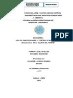 MONOGRAFIA-USO DEL DINOTEFURAN EN EL CONTROL DE MOSCA BLANCA Bemisia tabaci EN EL CULTIVO DEL TO.pdf
