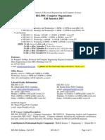EEL3801-Syllabus-Fall-2015-08-17-1856hrs